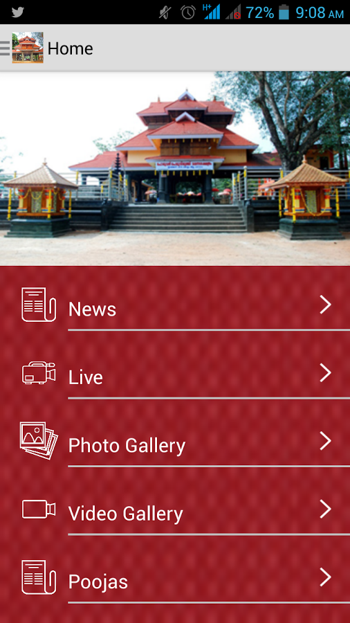 Malanada Temple App